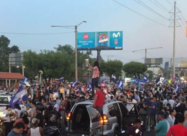 tüntetés, Nikaragua