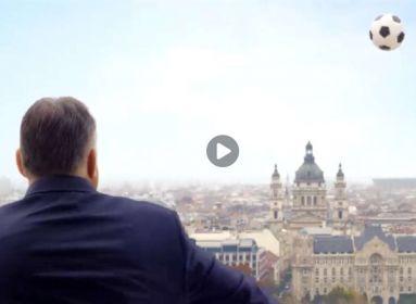 A nap, amikor Orbán Viktor átlőtte a Duna fölött a labdát