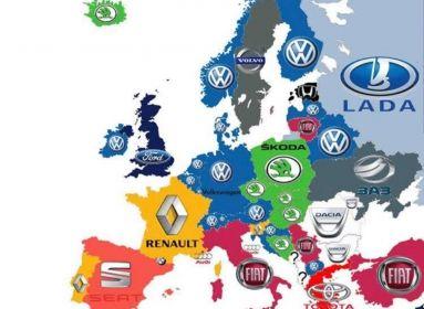 Tudja, melyik országban mi a legnépszerűbb autómárka?
