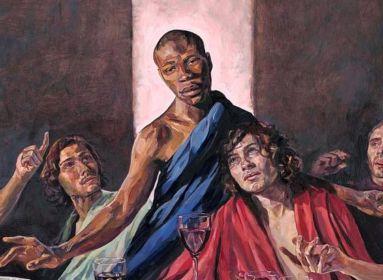 Fekete Jézust festettek az Utolsó vacsorára – így támogatja az anglikán egyház a BLM-et