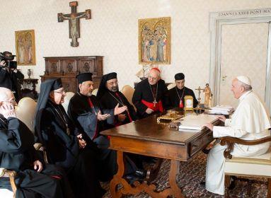 Ferenc pápa az egész Arab-félszigetre kiterjeszti a keleti katolikus pátriárkák joghatóságát
