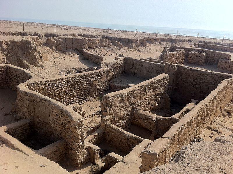 Failaka-szigeten felfedezett korai keresztény templom. Forrás: Avona.com
