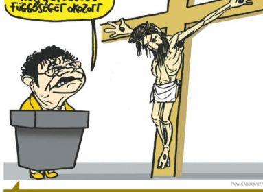 Keresztény győzelem a Jézus-gyalázó karikatúra ügyében
