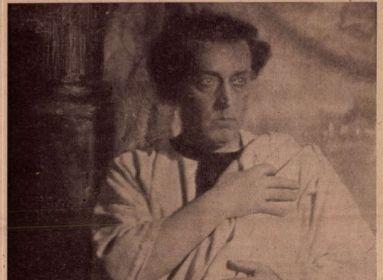 Ódry Antonius szerepében. Megjelent az Élet című katolikus lapban 1922. július 9.