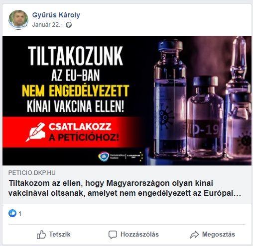 Két DK-s politikus talán még élne, ha nem hiszi el Gyurcsány oltásellenes hazugságait - vasarnap.hu