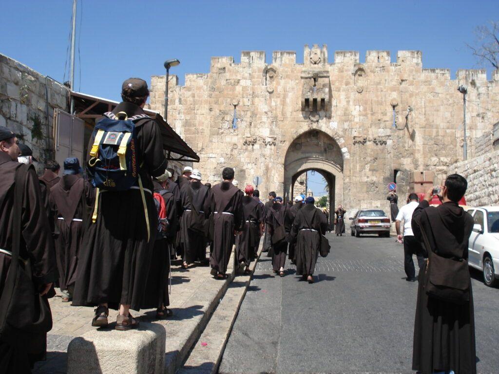 Ferencesek Jeruzsálemben.