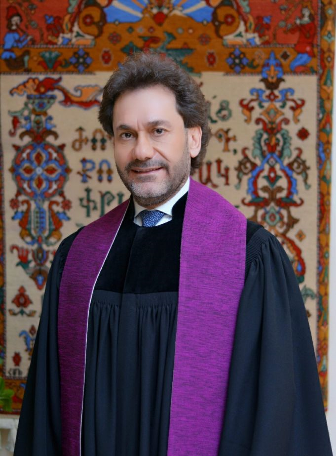 Haroutune George Selimian szíria örmény református