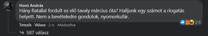 hont andrás komment