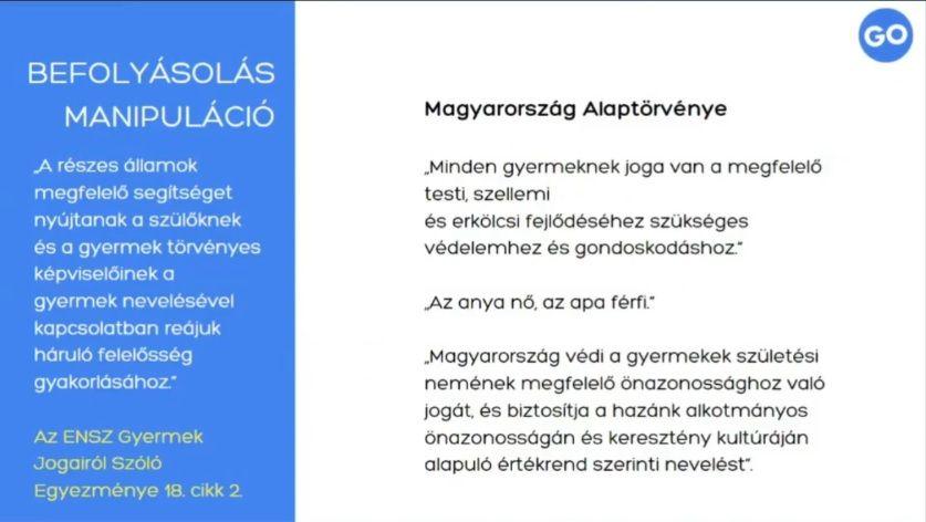 CitizenGo, Alaptörvény