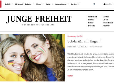 Kiáltványban állnak ki németek a normalitás és Magyarország mellett