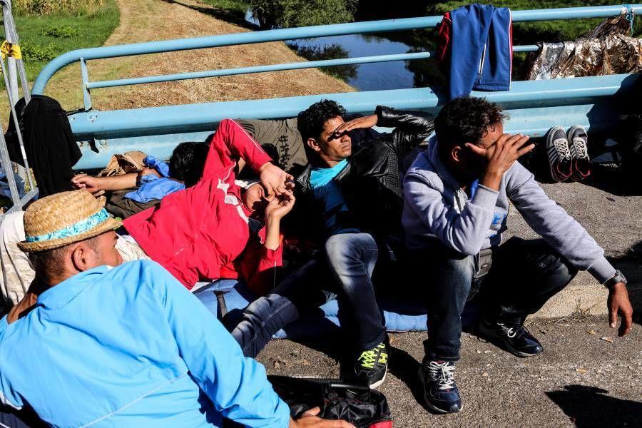 illegális migráns olaszország