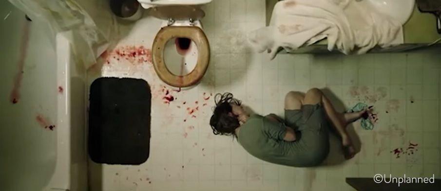 Abby Johnson Unplanned című filmjéből részlet