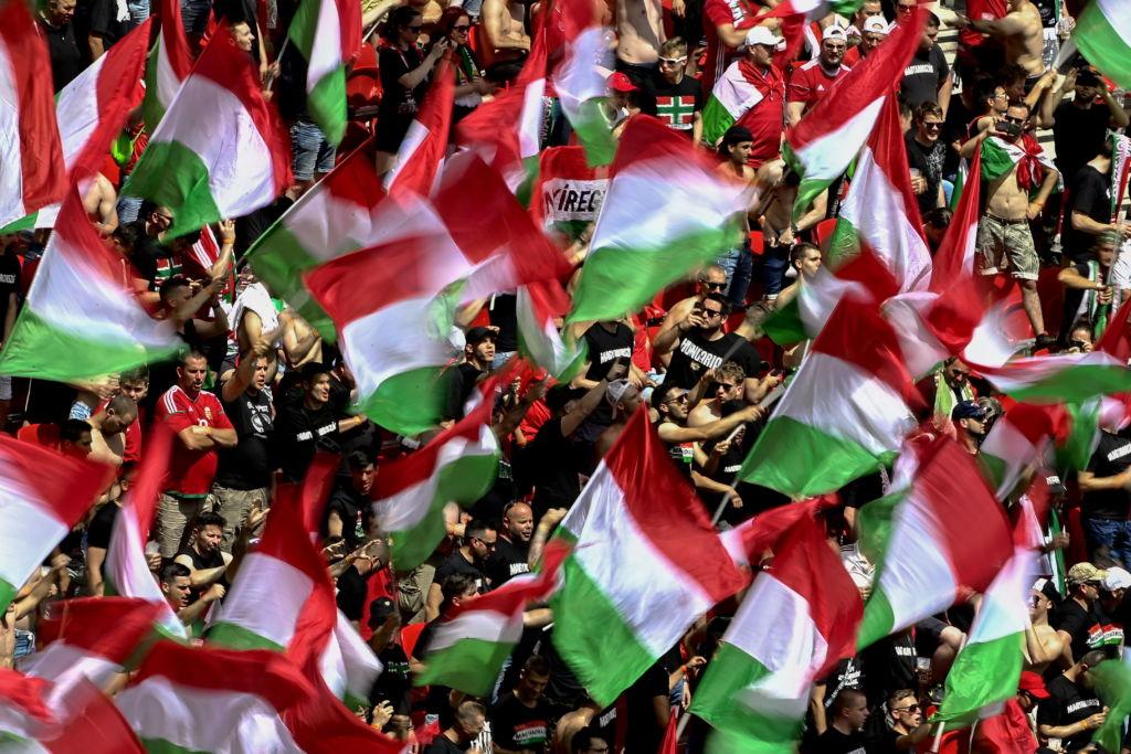 Magyarország - Franciaország magyar szurkolók