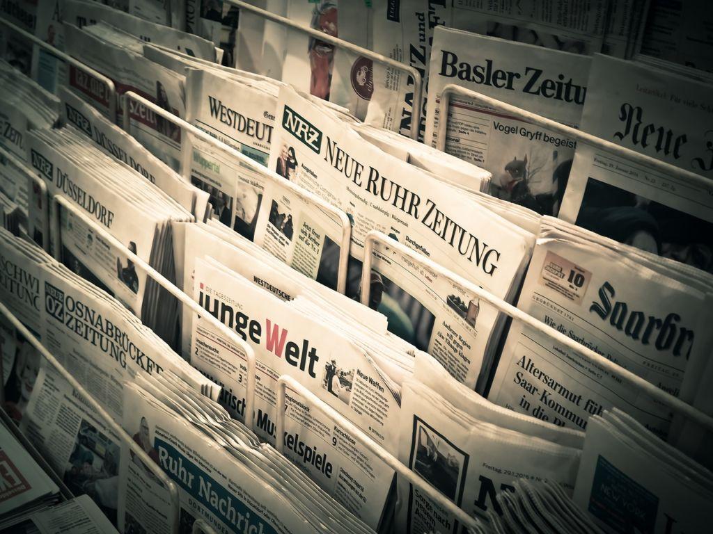német újság