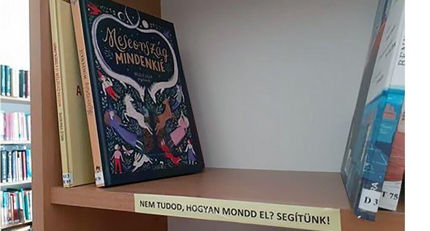 Meseország mindenkié a nagymarosi gyermekkönyvtárban