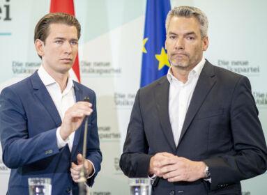 Nehammer: Hollandia Ausztria szövetségese az illegális bevándorlás és a terrorizmus elleni harcban