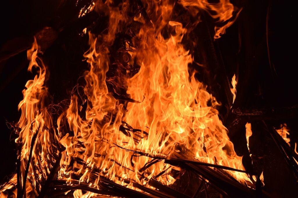 tűz Forrás: Pixabay
